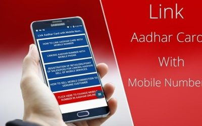 link aadhar to mobile